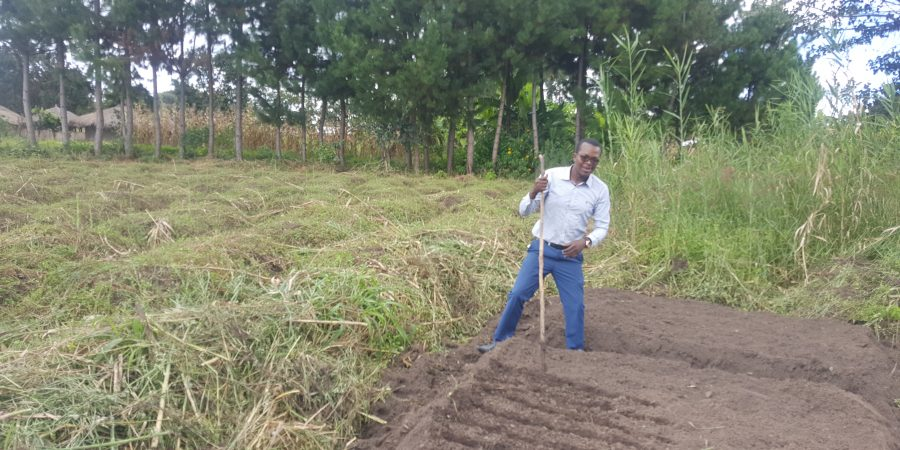 "Meet Michael Mwelwa; ""I choose farming over depending on a salary"""